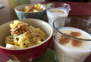 Vitaminreiches, gesundes Frühstück
