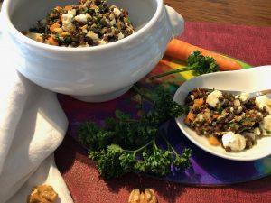 Linsensalat mit Feta und Gemüse Daniela Weh Gesundheitsberatung